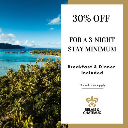 DEAL | Bora Bora Pearl Beach Resort & Spa – Relais & Châteaux