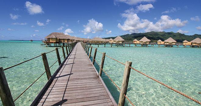 Moorea, Bora Bora, Taha'a & Tahiti