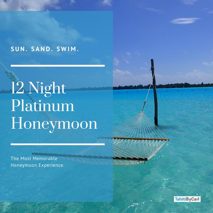 12 Night Platinum Honeymoon Package