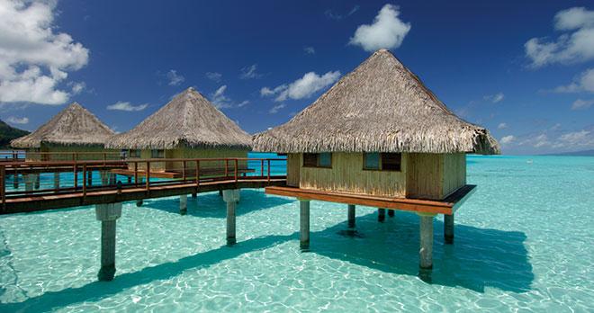 Moorea, Bora Bora & Tahiti avec la chaîne InterContinental