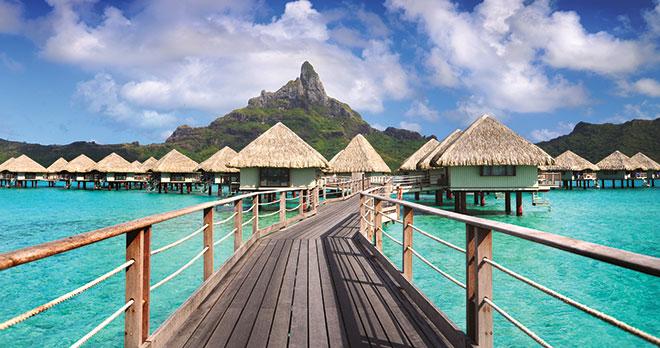 Moorea, Bora Bora & Tahiti avec la chaîne Le Meridien