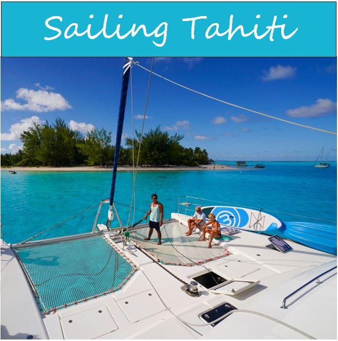 Sailing Tahiti