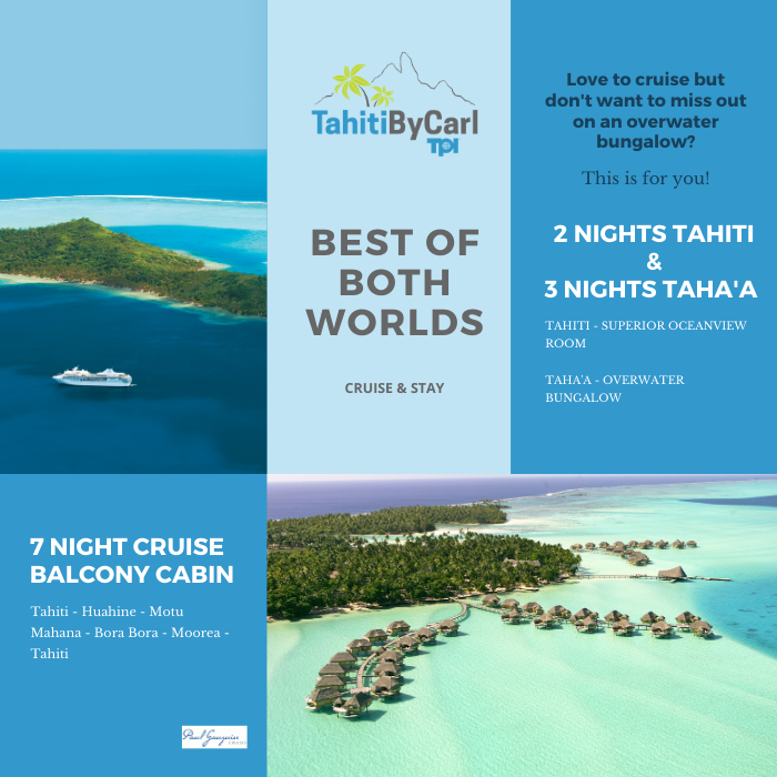 Best of Both Worlds – Cruise and Overwater Bungalow