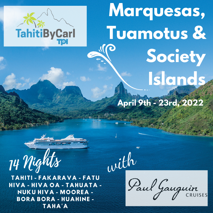 Marquesas, Tuamotus & Society Islands on Paul Gauguin Cruises